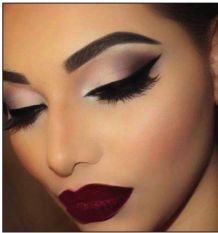 Resultado De Imagen Para Maquillaje Color Vino Maquillaje