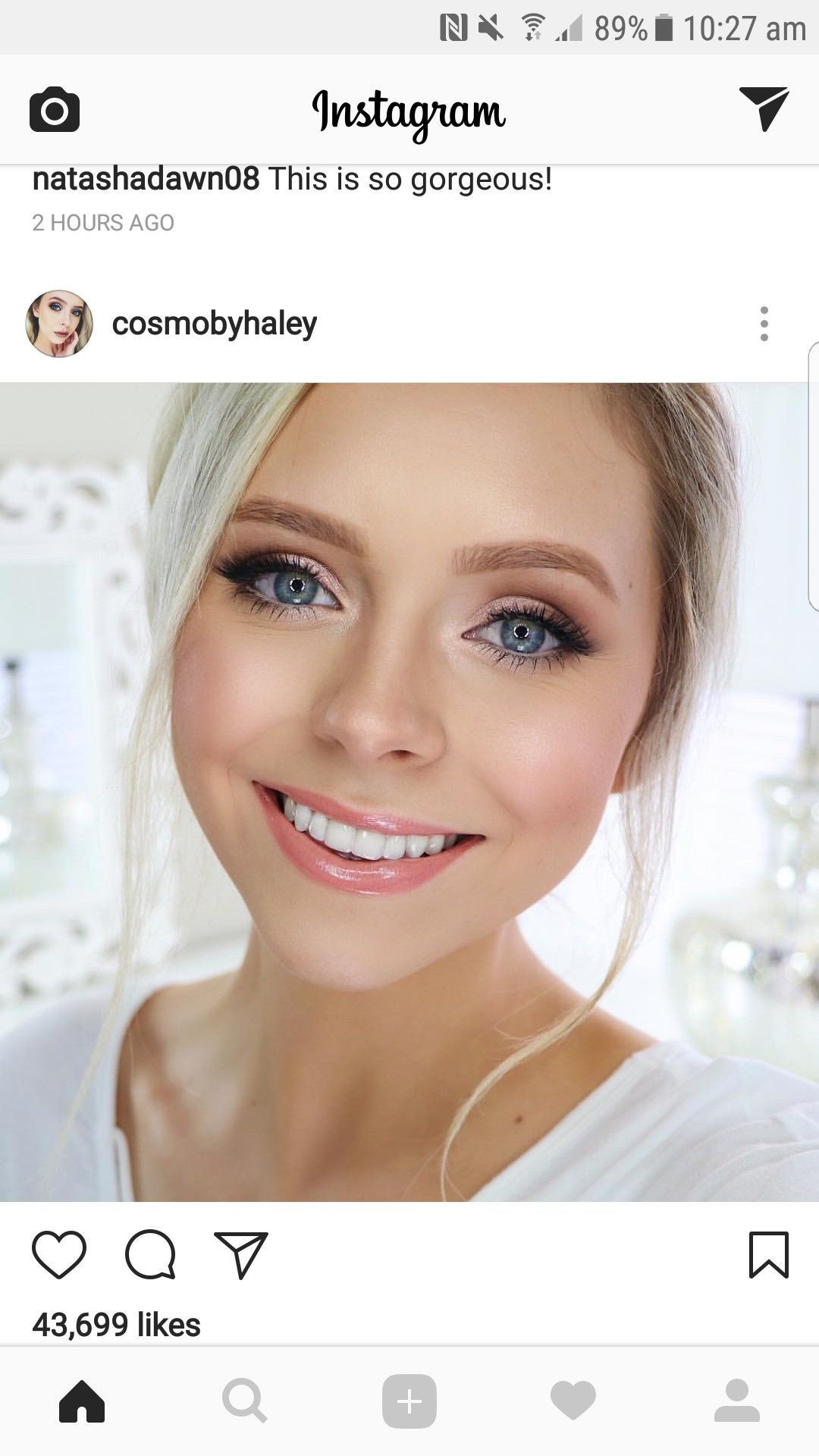 Wedding make up #wedding #instagram #cosmobyhaley | dramatic eye.
