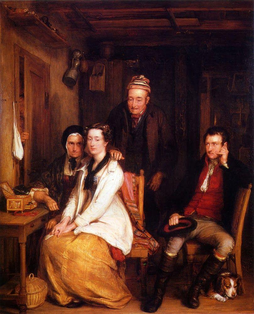Sir David Wilkie (1785-1841): The Refusal (1814)