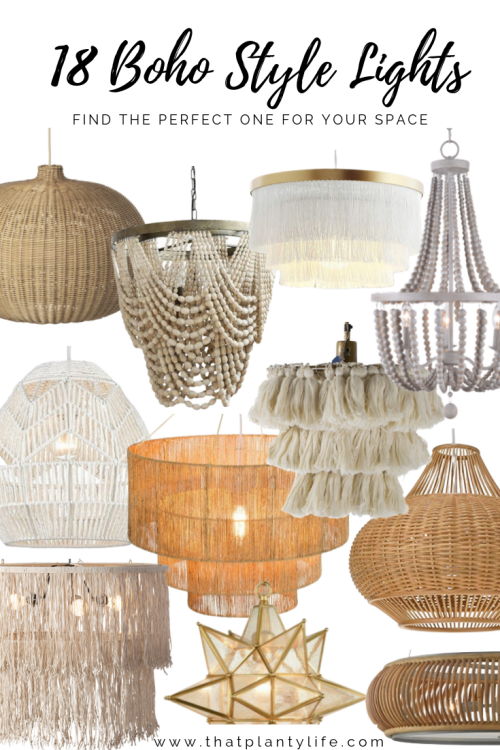 Bohemian Lights To Brighten Up Your