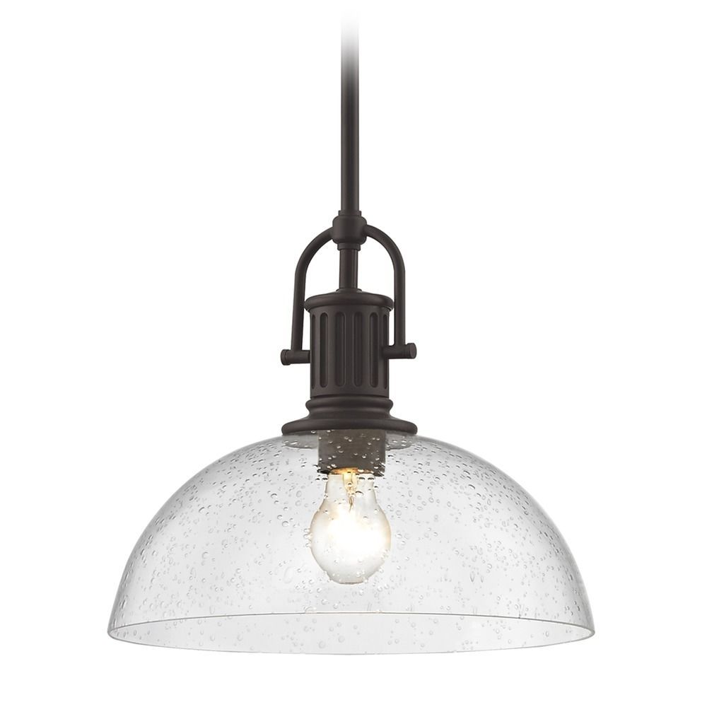 Industrial bronze seeded glass pendant light 13 inch wide glass design classics lighting industrial bronze seeded glass pendant light 13 inch wide 1764 220 g1785 cs mozeypictures Choice Image