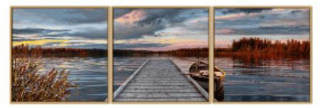 Malen Nach Zahlen Bild Sonnenaufgang Am See Triptychon 609470754 Von Schipper In 2020 Malen Nach Zahlen Bilder Sonnenaufgang Sonnenaufgang