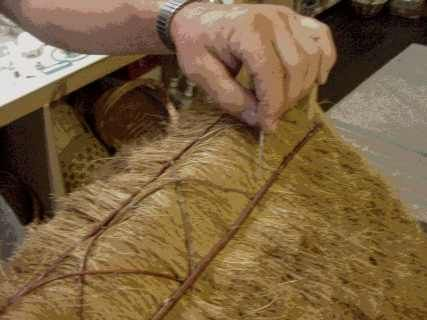 How To Thatch Dollhouse Roofs By Earth And Tree