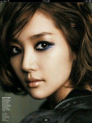 Park Min Young Park Min Young Asian Eye Makeup Asian Makeup