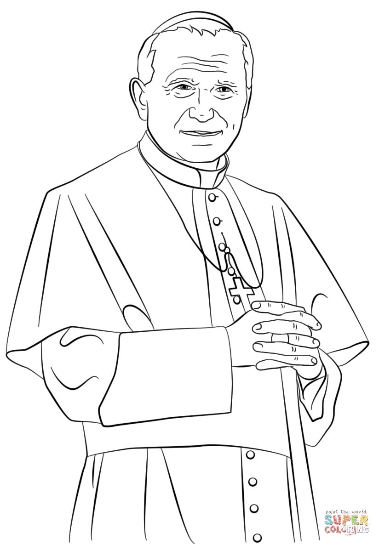 Josephantley Pope John Paul Ii St John Paul Ii Saint Teresa
