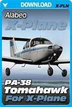 Alabeo PA-38 Tomahawk for X-Plane   Flight Simulator   Plane