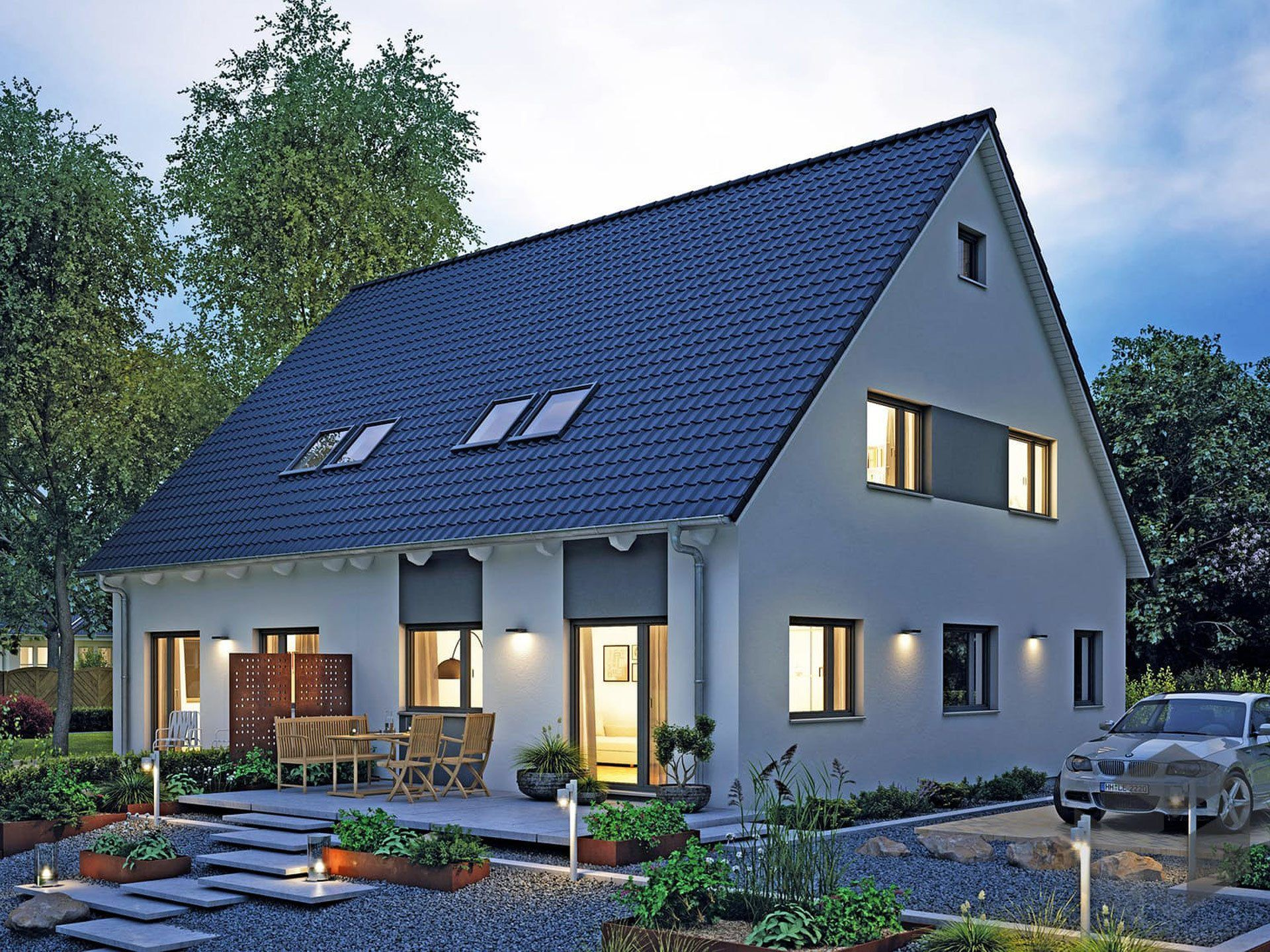 Fertighaus grundrisse doppelhaus  12 besten Mehr-Generationenhaus Bilder auf Pinterest ...