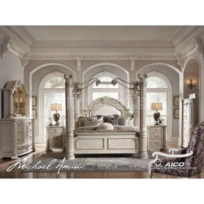 Queen Canopy Bedroom Sets on Monte Carlo Ii Canopy Poster Bedroom ...