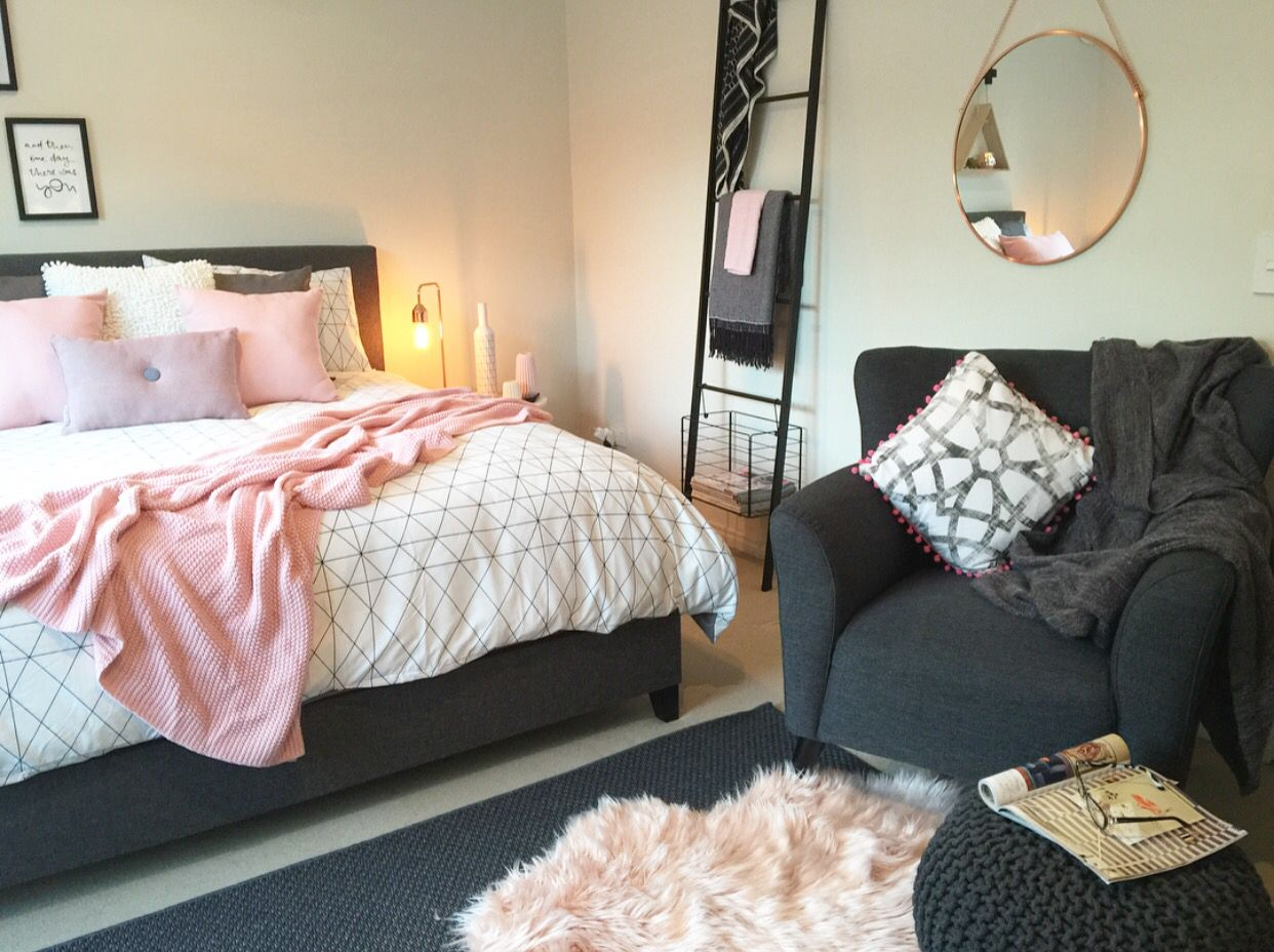 A serious Kmart lover! This master bedroom is a little