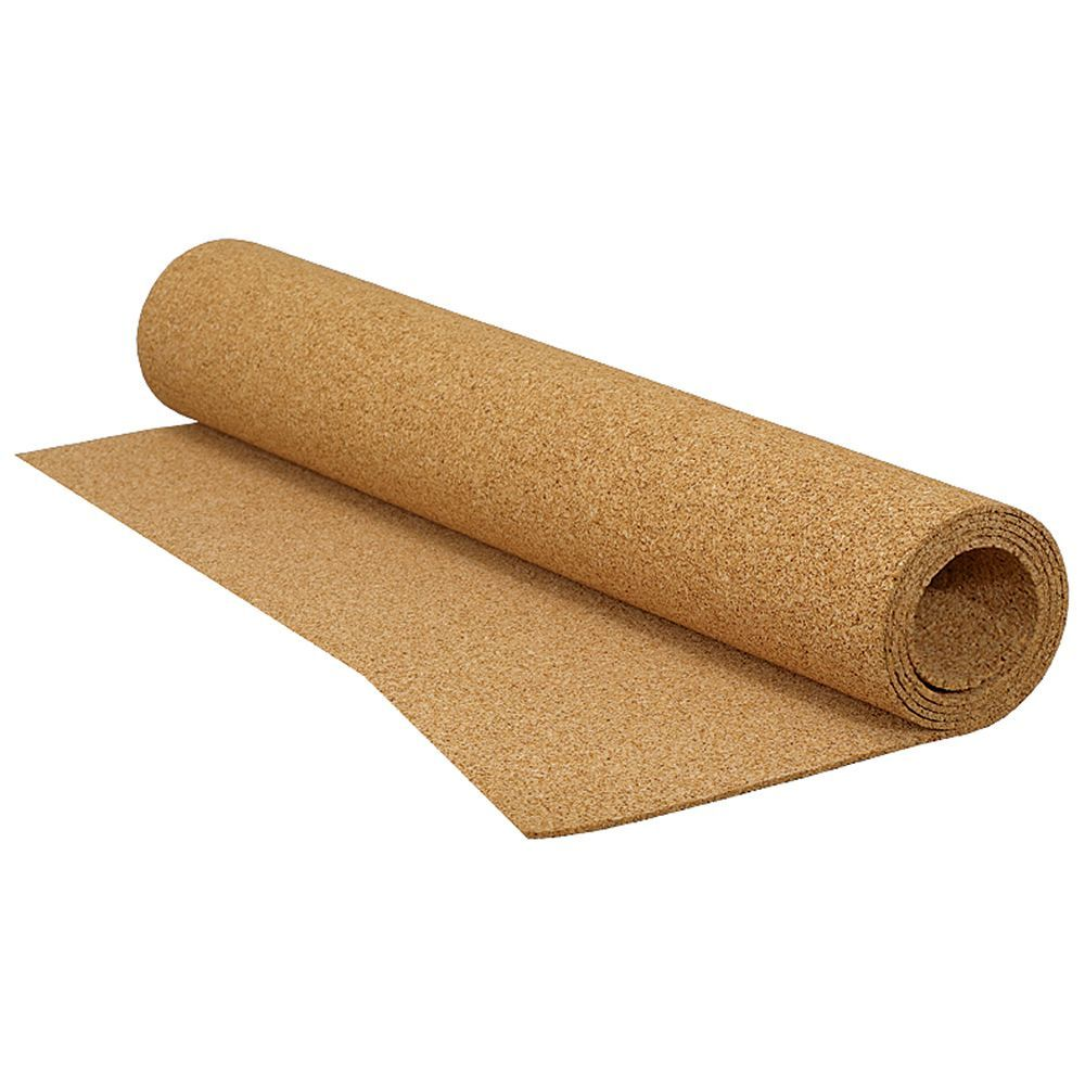 100 Sq Feet 25 Feet X 4 Feet X 1 4 Inch Roll Of Cork Underlayment For Tile Laminate And Floated Wood Floor Cork Underlayment Underlayment Engineered Hardwood