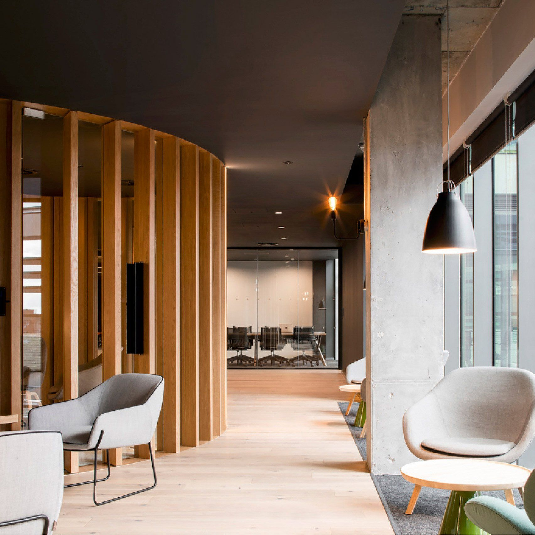 "Contemporary Interiors Dublin: The ""urban Grain"" Of Dublin Influenced ODOS Architects' Design For The European Offices Of Slack"