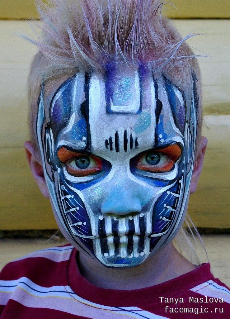 General Grievous (Star Wars). Face paint by Tanya Maslova ...