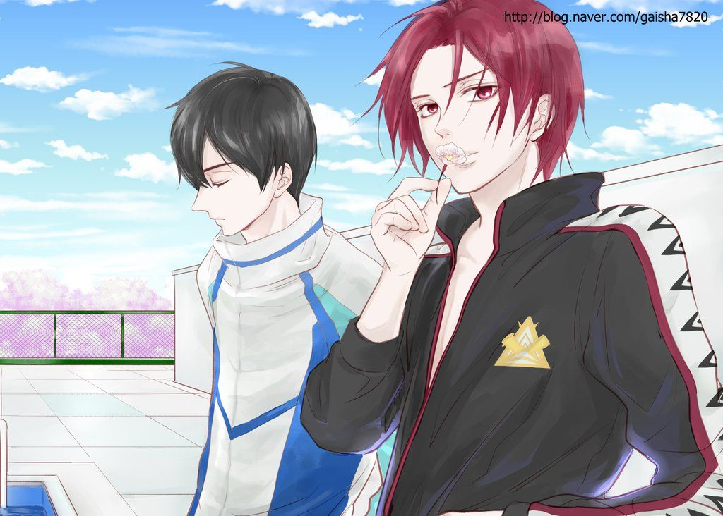 Free! Rin and Haru by on