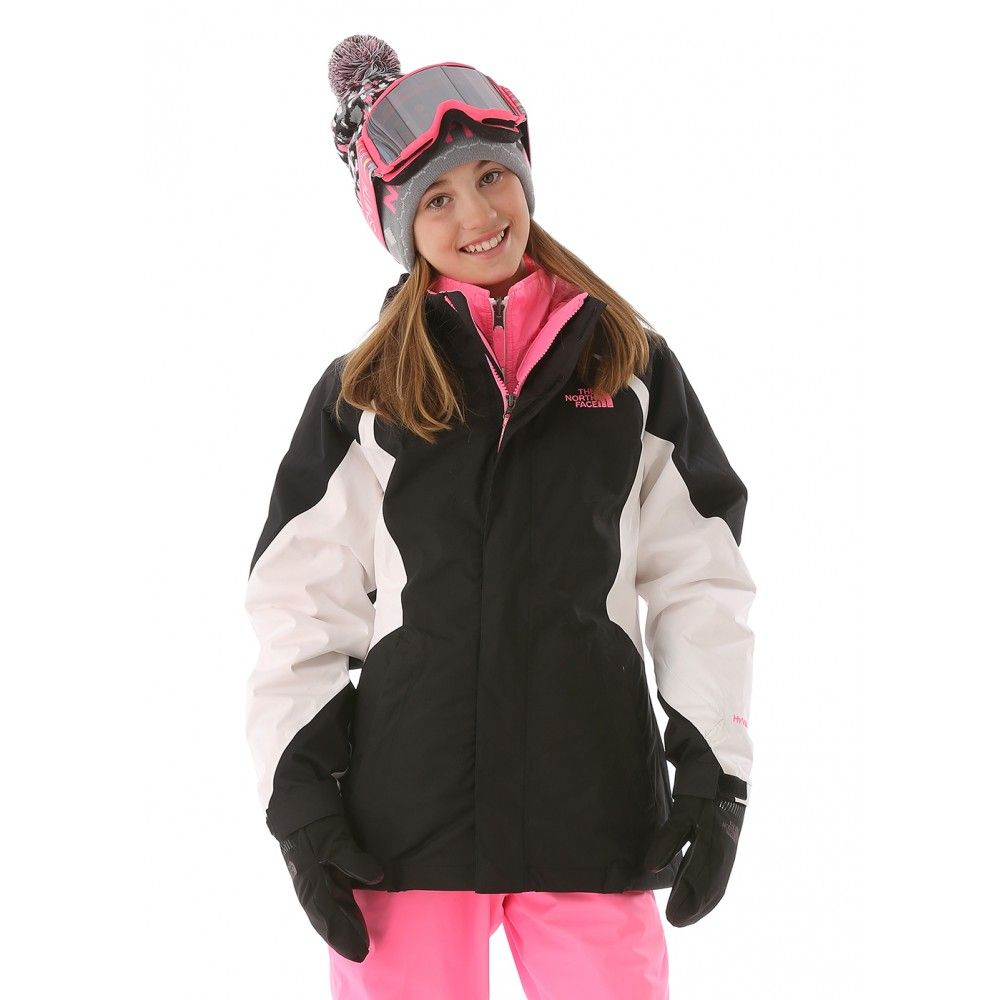 The North Face Girls Kira Triclimate 3 In 1 Jacket North Face Girls Ski Girl Girls Ski Jacket [ 1000 x 1000 Pixel ]