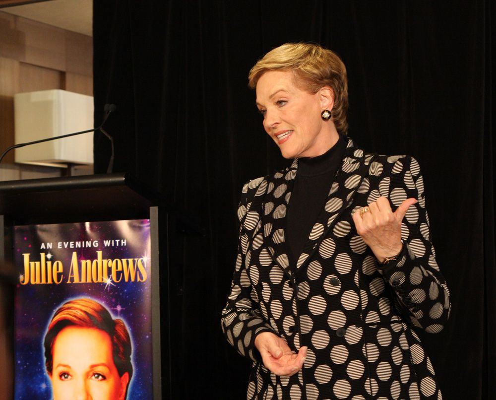 Julie Andrews to be Honored with Lifetime Achievement Award at Hamptons International Film Festival
