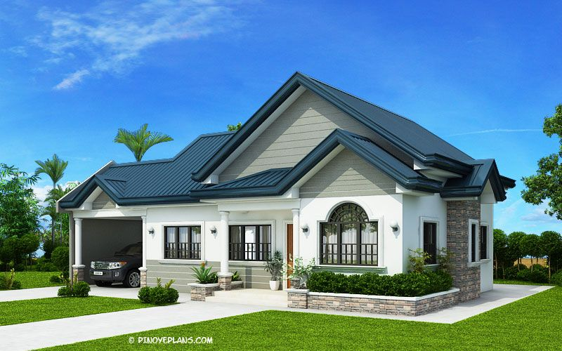 Three Bedroom House Concept Pinoy Eplans Affordable House Plans Beautiful House Plans Architectural House Plans
