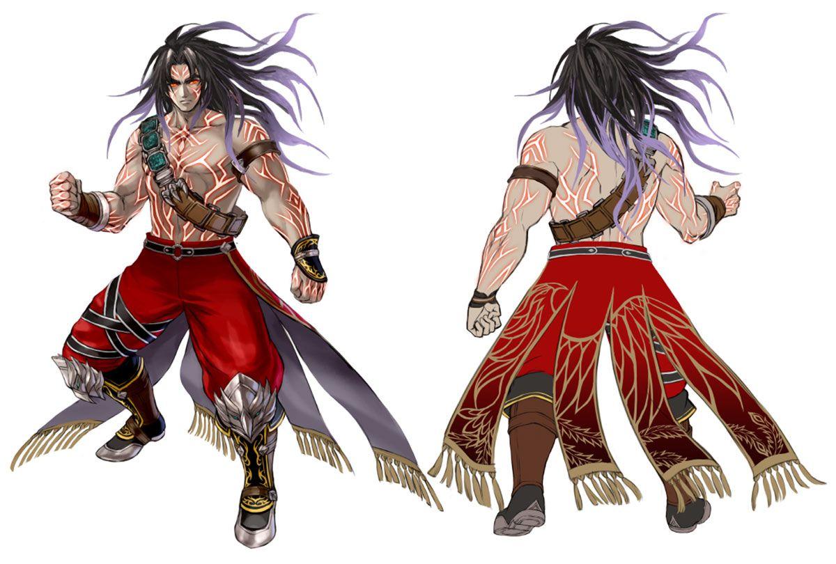 Kilik Transformation Character Concept Art From Soulcalibur Vi