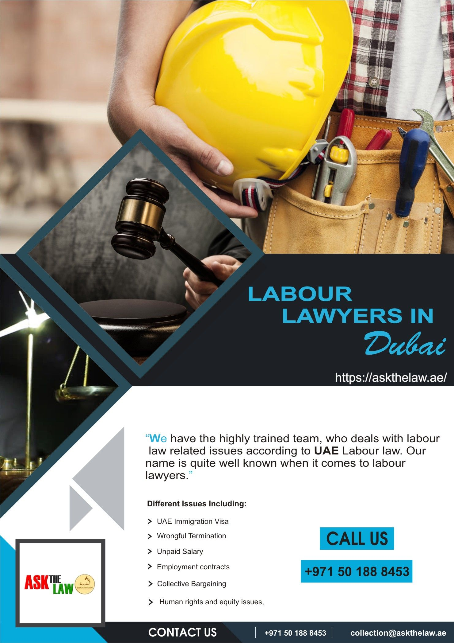 Labour Lawyers In Dubai In 2020 Labor Law Lawyer Labor Rights