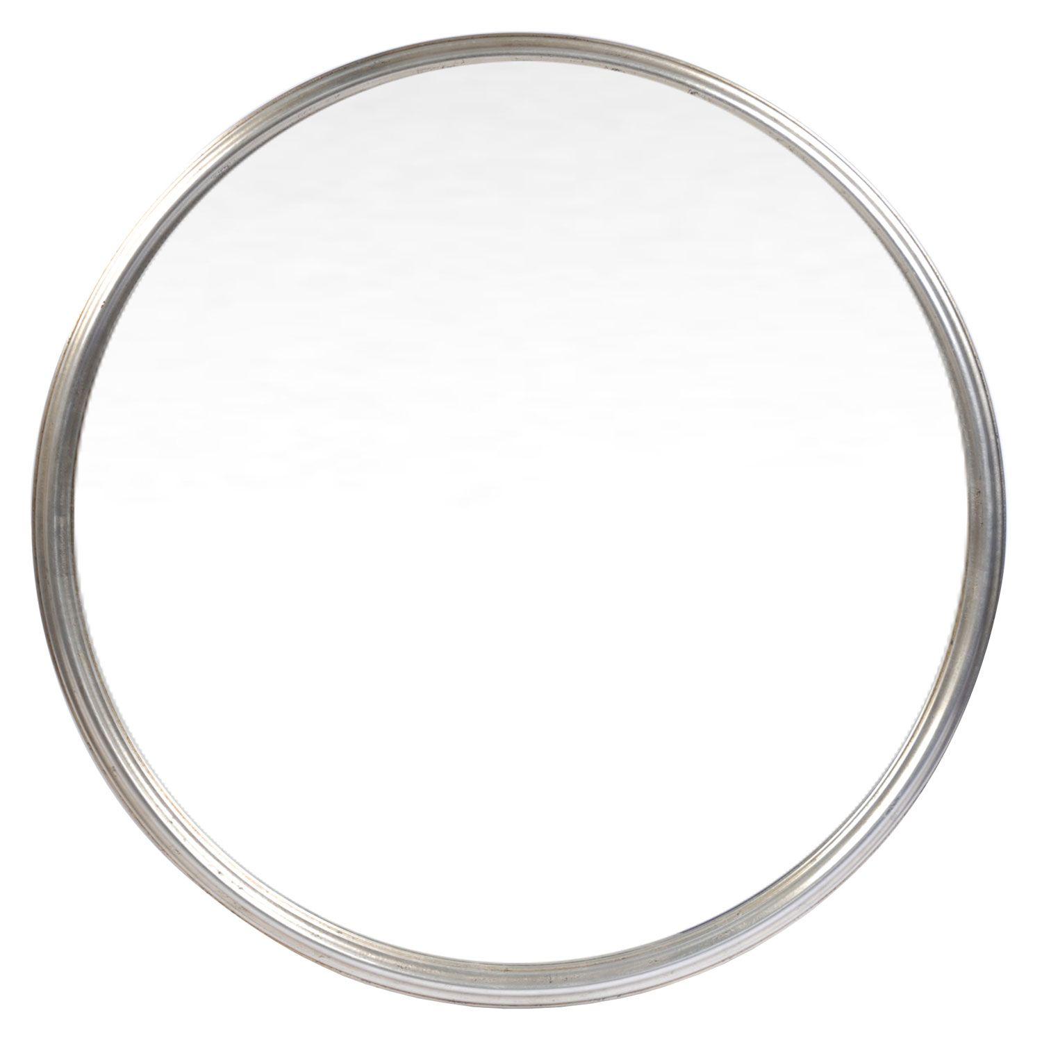 Bathroom Mirror Konga classic silver round mirror | round mirrors | mirrors | home decor