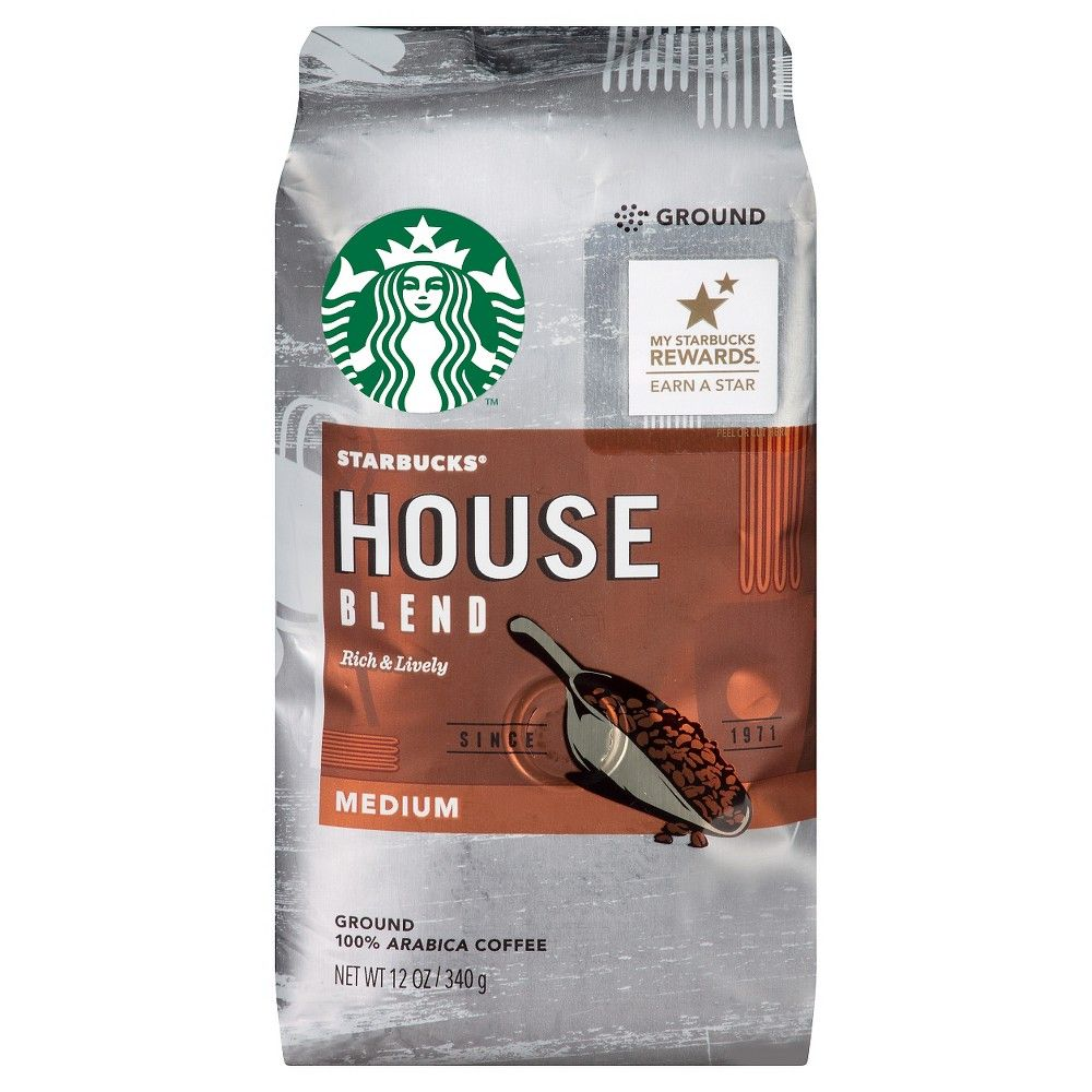 Starbucks House Blend Ground Coffee 12oz Products