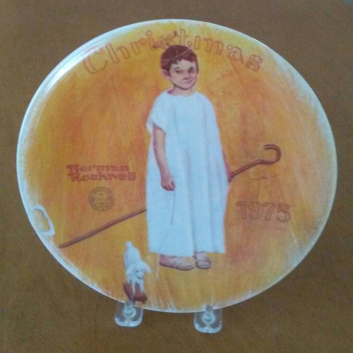 Norman Rockwell Christmas plate for sale in our online Etsy shop ...