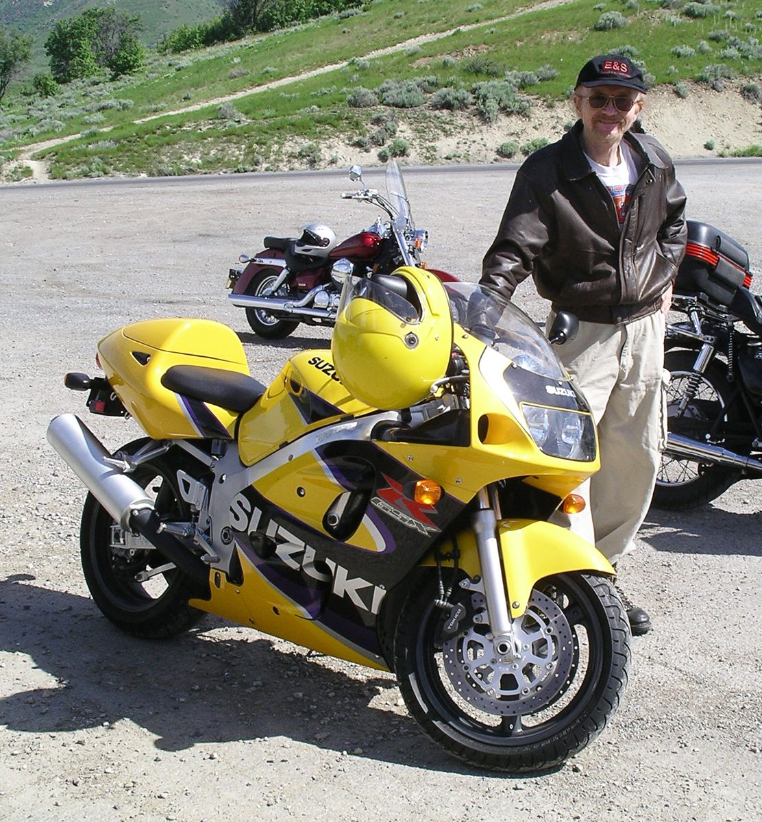 Vehicle 112 - Suzuki GSXR600 5-18-01 - Always wanted a