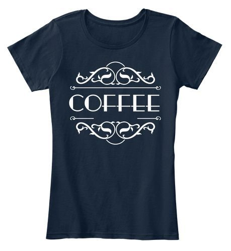Coffee T shirt minimalist design