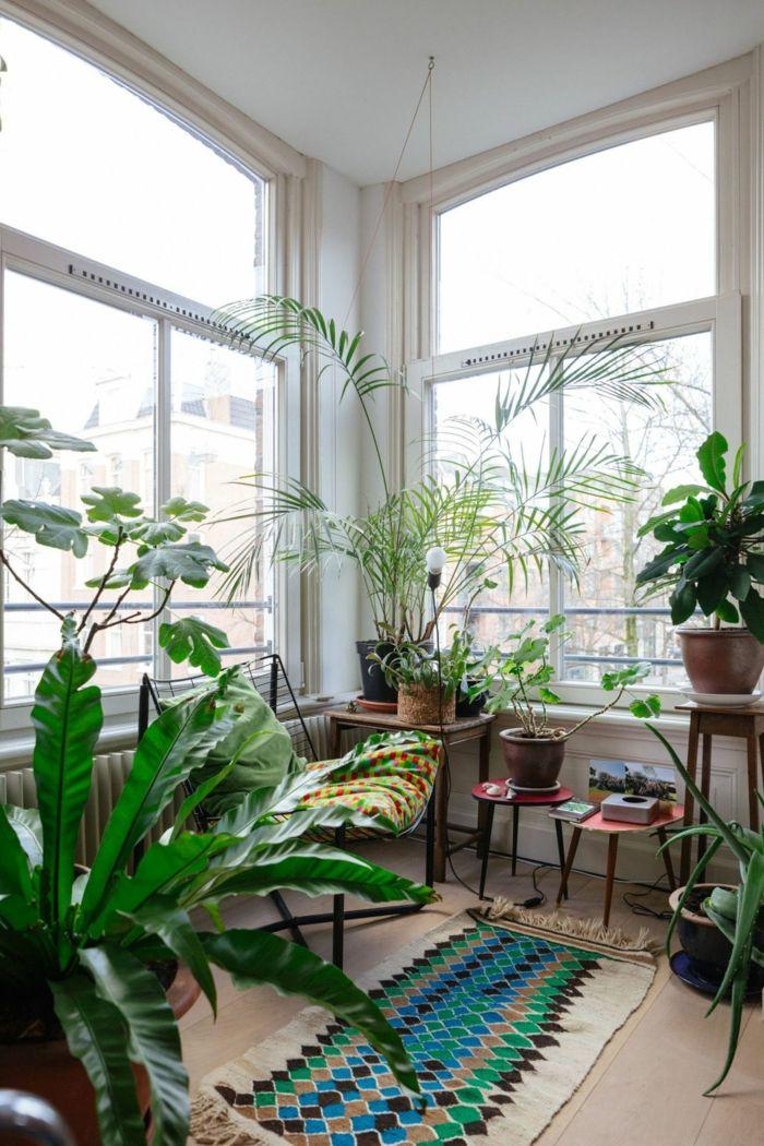 1001 + idées pour l'aménagement de véranda beau et pratique   Jardin d'hiver, Jardin intérieur ...
