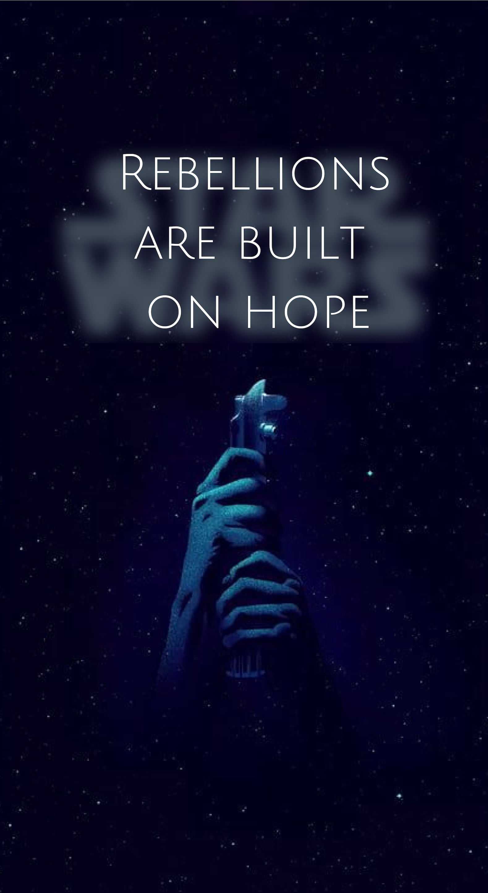 I Make Wallpapers If You Have A Specific Idea In Mind I Can Try To Make It For You Just Message Me On P Star Wars Quotes Wallpaper Quotes Homemade Wallpaper
