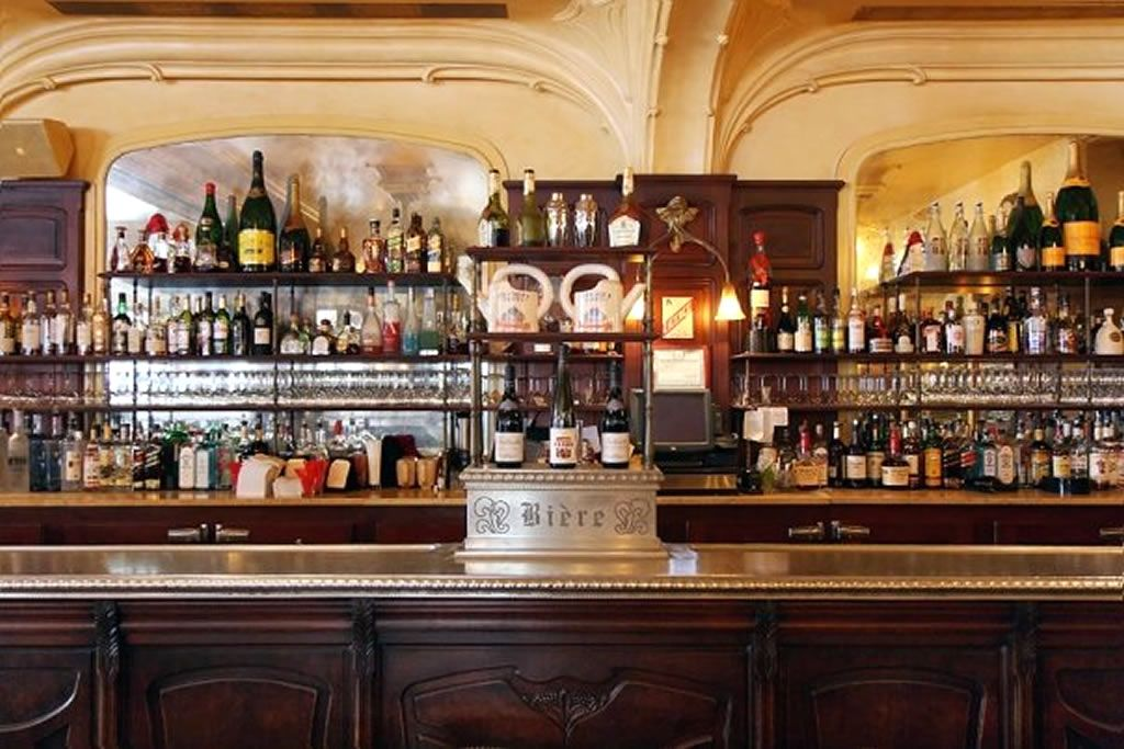 restaurant bar restaurant interior design of orsay brasserie nyjpg back bar shelves reference