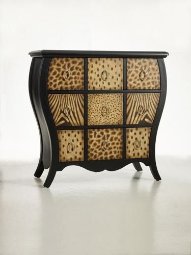 Safari chest three drawers safari home decor for Funky home decor south africa