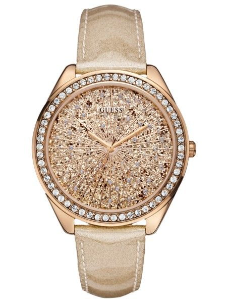 beb9674d76c28 GUESS SUPER GLITTER Watch