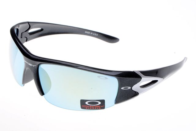 Oakley Fuel Cell Sunglasses Black White Frame Colorful Lens 0468