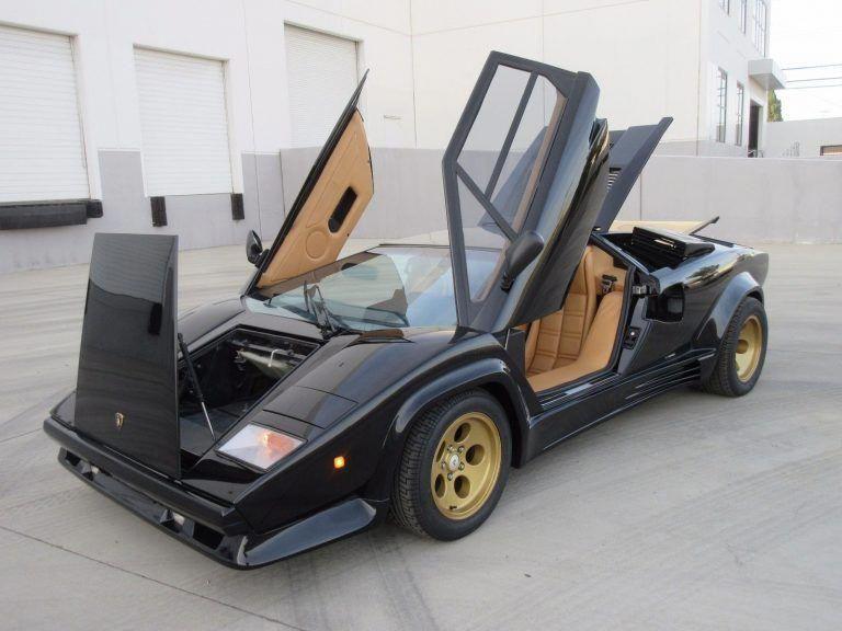 New Paint 1992 Lamborghini Countach Replica Lamborghiniclassiccars