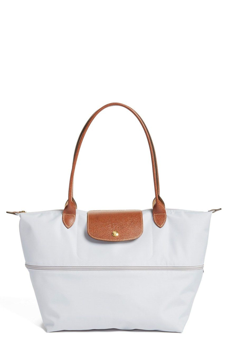Been Looking For A Cute Durable Tote Traveling And This Pearl White Longchamp Nordstrom