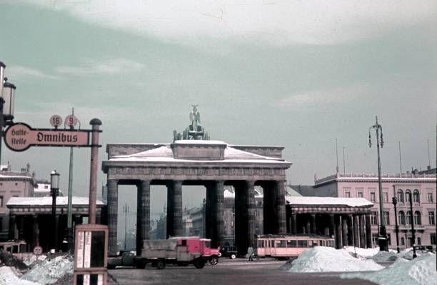1940 Hindenburg Platz Und Brandenburger Tor Berlin Geschichte Bahn Berlin Brandenburger Tor