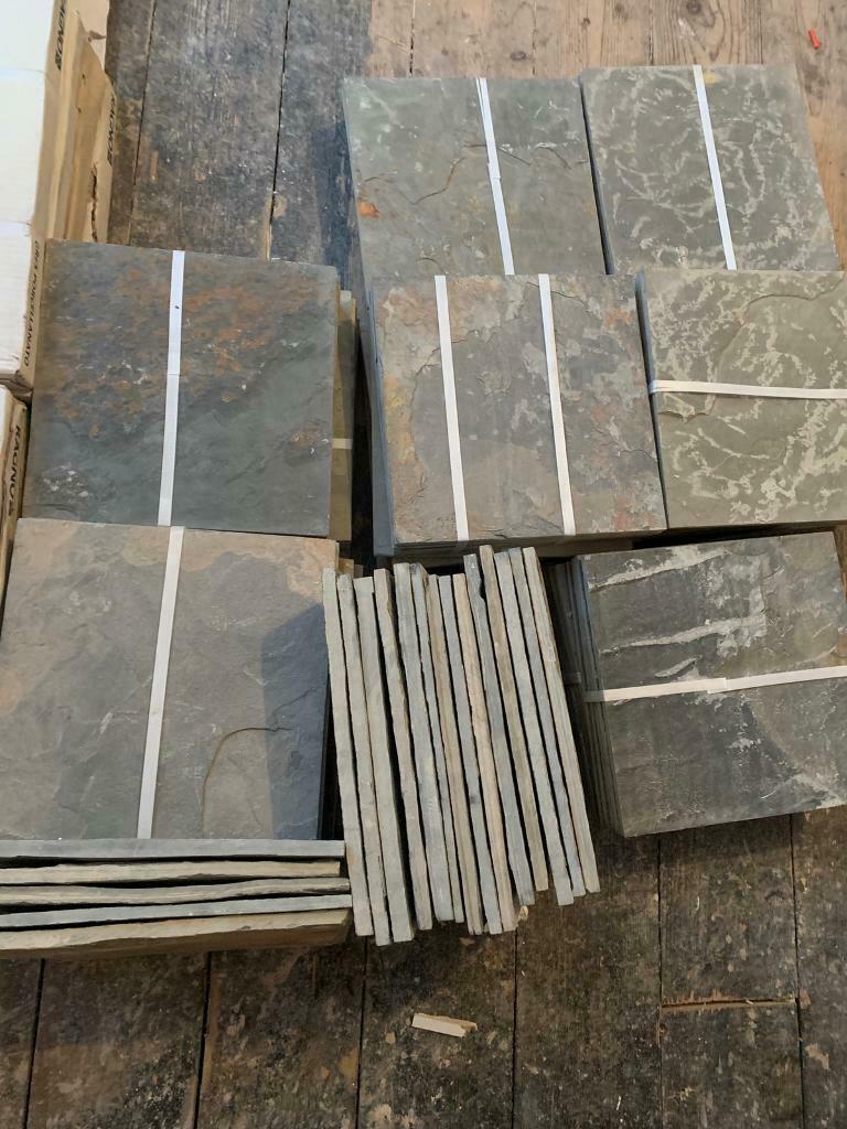 Slate Floor Tile 300x300 In Woodley