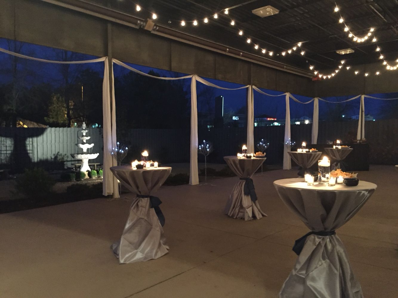 Beautiful cocktail hour at Venue92! weddingreception