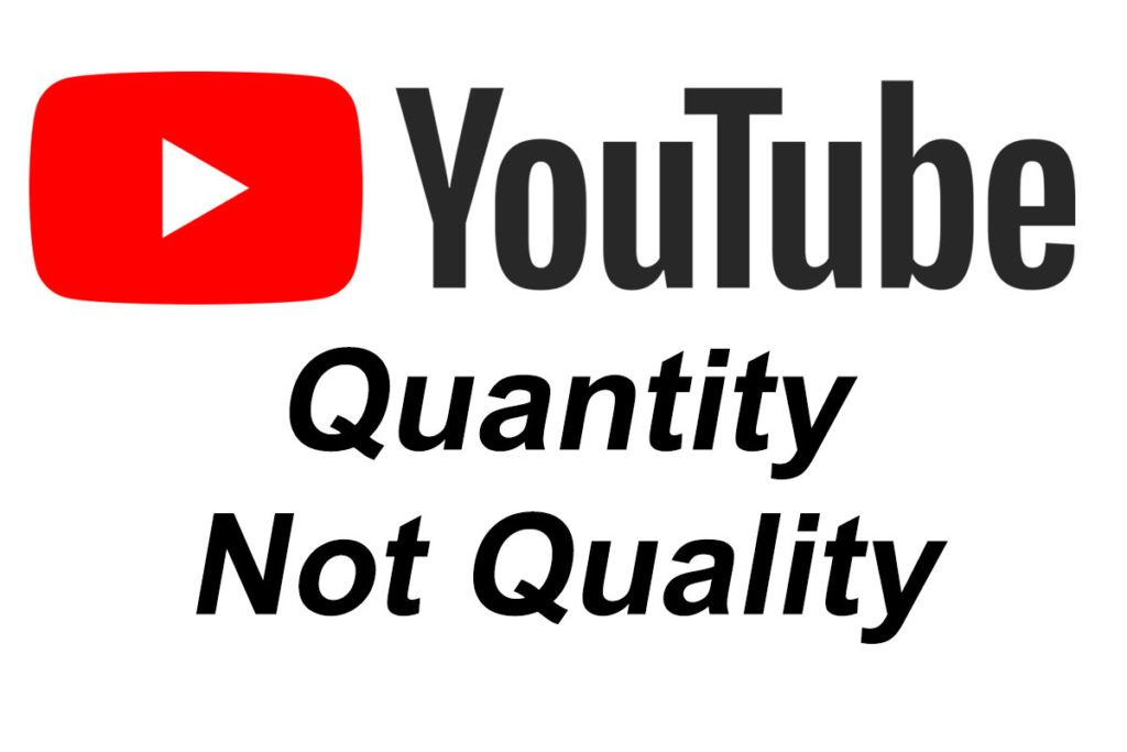 Youtube Quantity Not Quality Youtube Essay Tech Company Logos