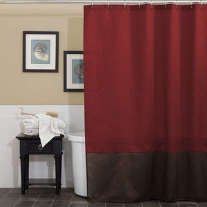 Home Red Shower Curtains Shower Curtains Walmart Fabric Shower