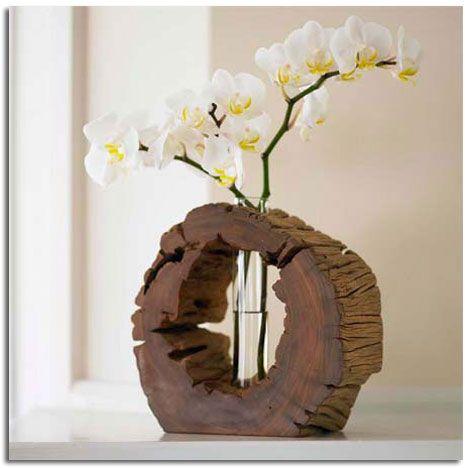 Decorar con troncos de madera natural tree trunks woods - Troncos de madera para decorar ...