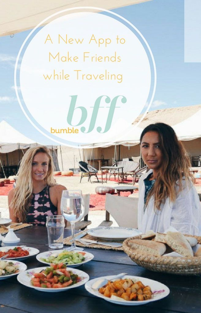 Review of Bumble BFF App To Meet Friends While Traveling