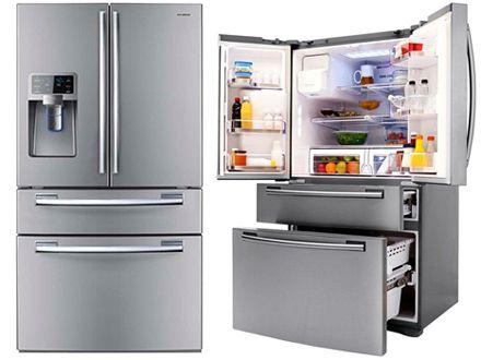 Refrigerador Samsung French Door Com Dispenser De Agua 614l Inox
