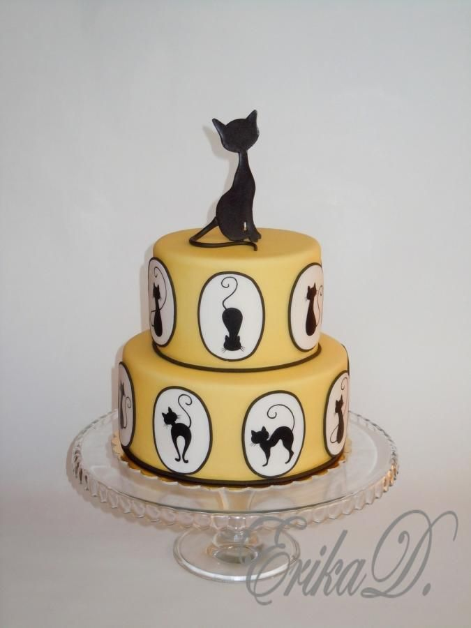 cats - Cake by Derika