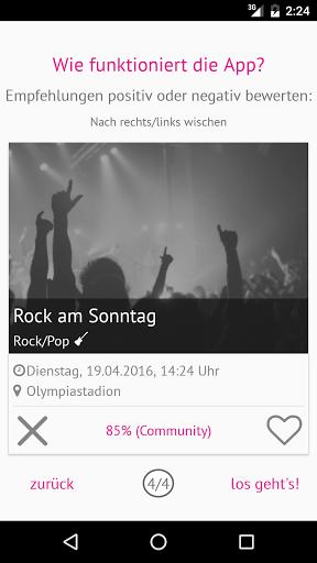 Die München Ticket App generiert personalisierte Eventempfehlungen aus einer Datenbank von mehr als 5000 Veranstaltungen in und um München. Dabei berücksichtigt die App die persönlichen Vorlieben eines jeden Nutzers und ermöglicht dadurch eine effiziente und präzise Recherche. Die Empfehlungen umfassen nicht nur (inter)national bekannte Künstler, sondern bieten Nutzern die Möglichkeit, auch weniger bekannte Veranstaltungen und Künstler zu entdecken.  http://Mobogenie.com