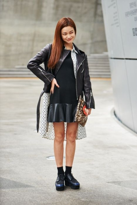 Street style: Han Eu Ddeum at Seoul Fashion Week Spring 2015 Asian Street  Style,