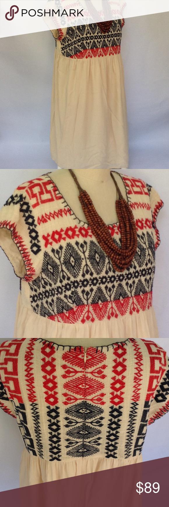 Anthropologie Edme & Esyllte Boho Dress Large Knee length. Large. Excellent. Anthropologie Dresses Maxi
