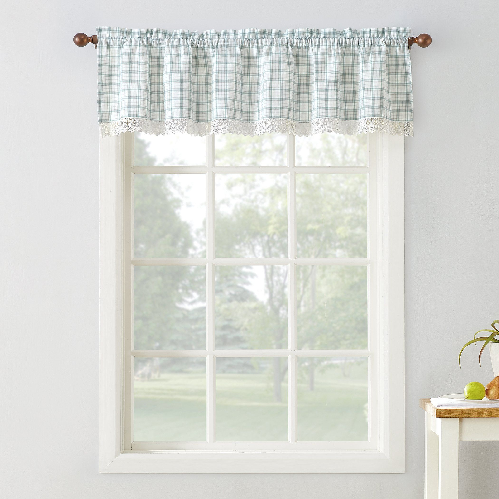 Maisie Rod Pocket Valance Will Bring Charm To Your Window Which