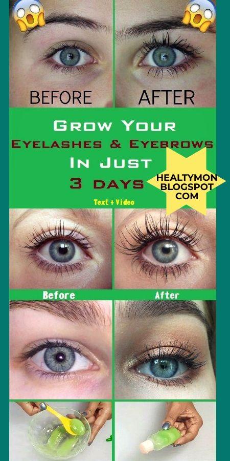 Fonkelnieuw Grow your eyelashes & eyebrows in just 3 days ! Eyelash And ZI-25