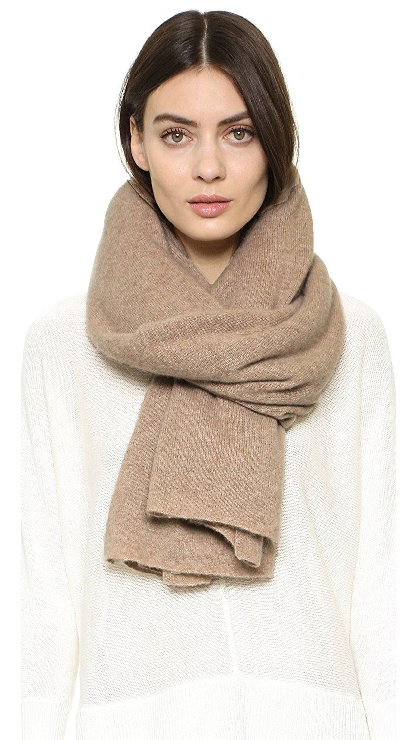 f6d4ab44dfc5b White Warren Women's Cashmere Travel Wrap Scarf *** Find out more details  by clicking the image : Best Travel accessories for women